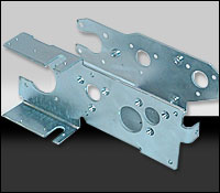 Engineered sheet metal component